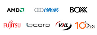 Workstation vendor logos