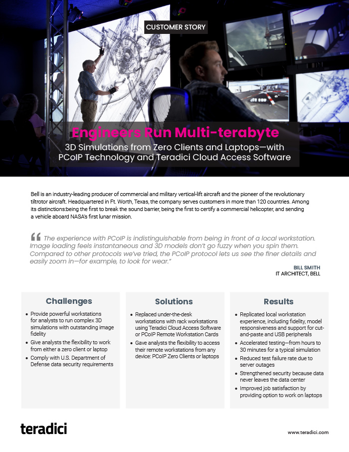 Bell Helicopter Customer Story PDF