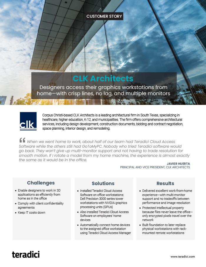 CLK Architects Customer Story PDF