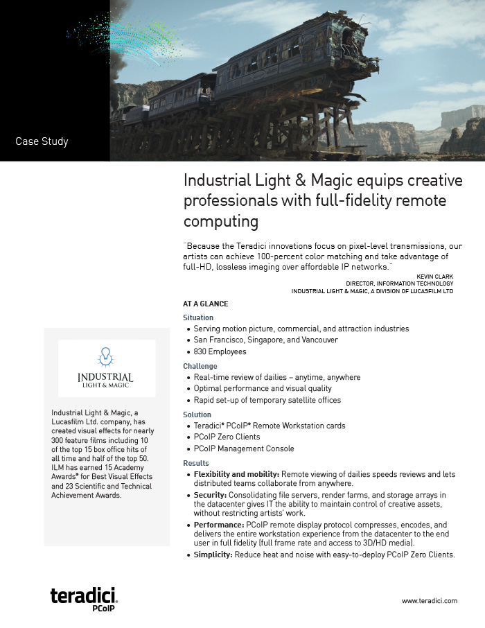 ILM Customer Story PDF