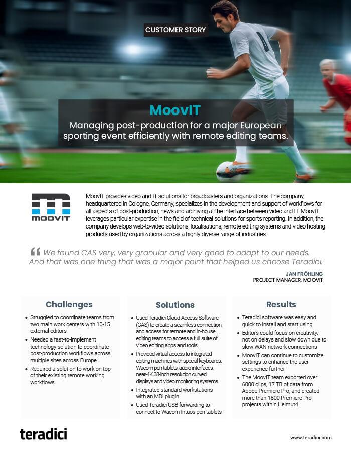 MoovIT Customer Story PDF