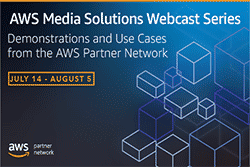 AWS Media Solutions Webcast