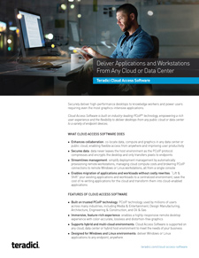 Cloud Access Software