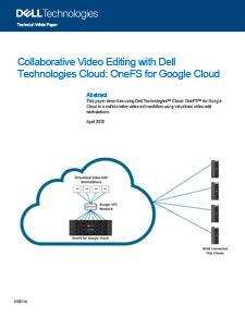 Dell Collaborative Video Editing Solution Brief