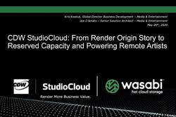 CDW StudioCloud