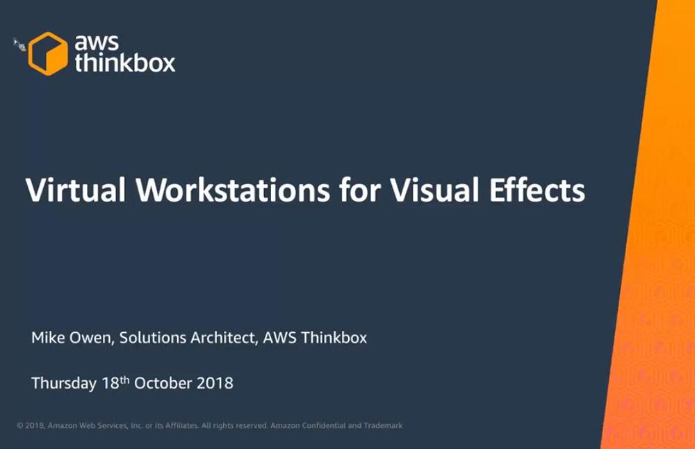 Virtual Workstations AWS