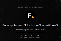 Foundry webinar Nuke in the Cloud with AWS