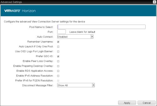 Remote desktop connection broker port number
