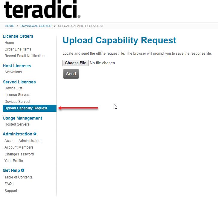 Managing PCoIP Session Licenses - Teradici License Server