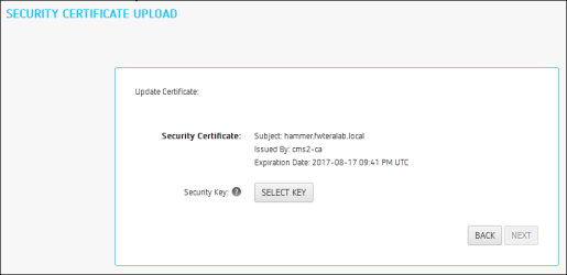 Managing PCoIP Management Console Certificates